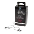 Pierścienie na Sutki Fifty Shades of Grey - Pleasure Pain Nipple Rings