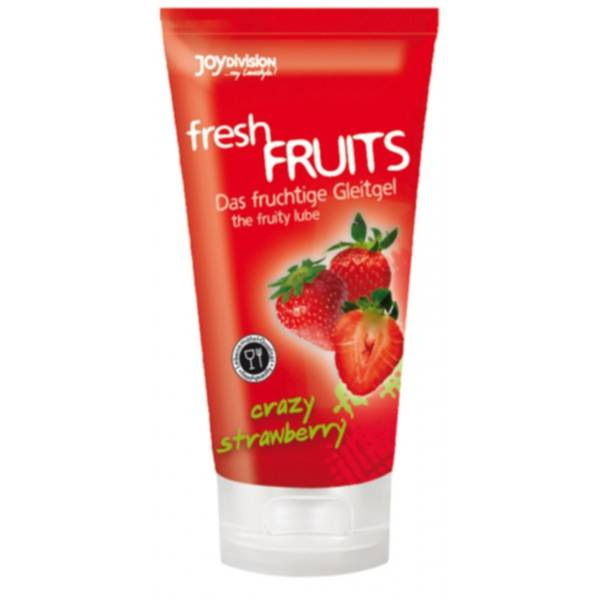 Lubrykant Truskawkowy freshFRUITS Crazy Strawberry 150 ml