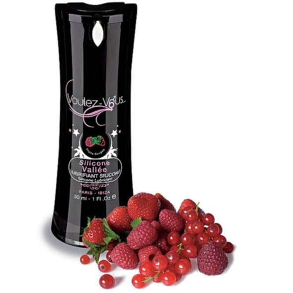 Lubrykant silikonowy czerwone owoce - Voulez-Vous... Silicone Lubricant Red Fruits